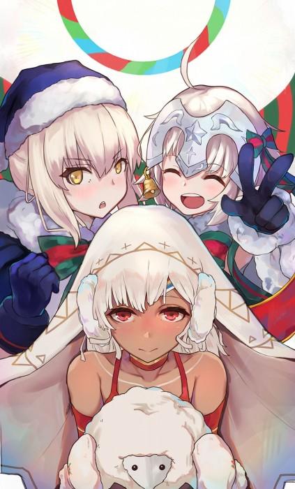 二次 萌え 非エロ フェチ コスプレ クリスマス 冬 サンタクロース サンタさん トナカイ 二次非エロ画像 christmas10020171225040
