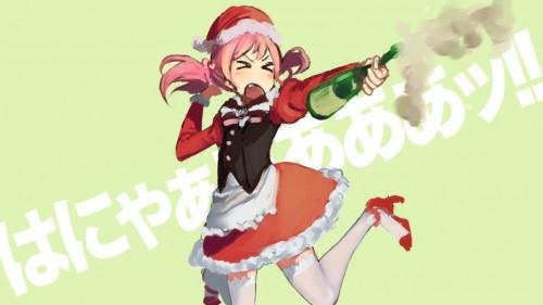 二次 萌え 非エロ フェチ コスプレ クリスマス 冬 サンタクロース サンタさん トナカイ 二次非エロ画像 christmas10020171225064