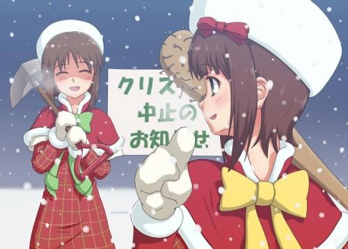 二次 萌え 非エロ フェチ コスプレ クリスマス 冬 サンタクロース サンタさん トナカイ 二次非エロ画像 christmas10020171225065