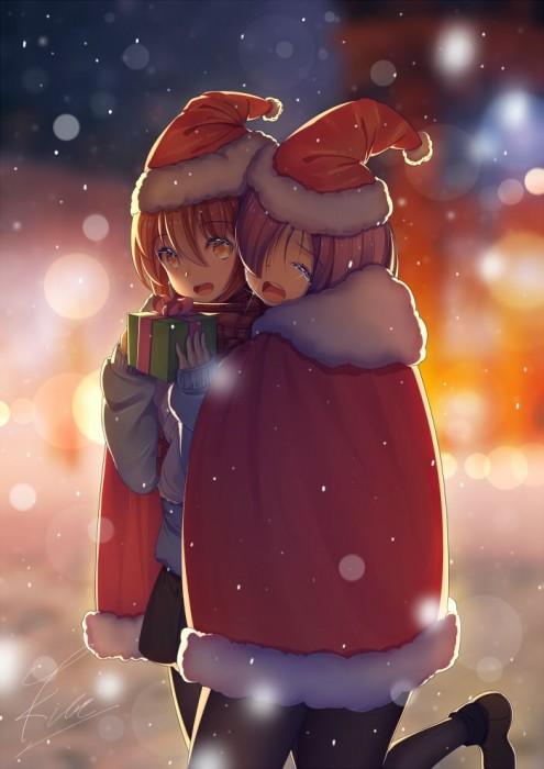 二次 萌え 非エロ フェチ コスプレ クリスマス 冬 サンタクロース サンタさん トナカイ 二次非エロ画像 christmas10020171225074