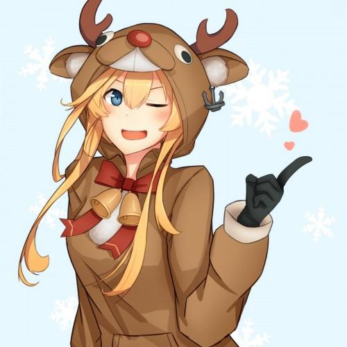 二次 萌え 非エロ フェチ コスプレ クリスマス 冬 サンタクロース サンタさん トナカイ 二次非エロ画像 christmas10020171225078