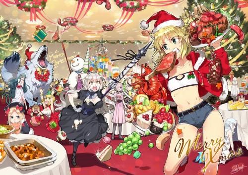 二次 萌え 非エロ フェチ コスプレ クリスマス 冬 サンタクロース サンタさん トナカイ 二次非エロ画像 christmas10020171225084