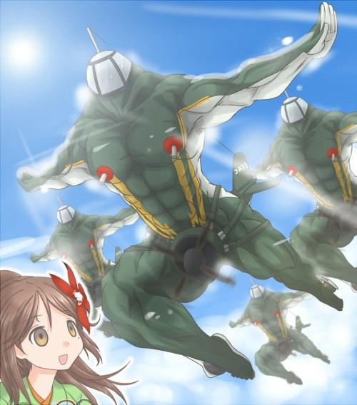二次 非エロ 艦隊これくしょん 漢体これくしょん 筋肉 マッチョ 二次非エロ画像 kancolle2017123137