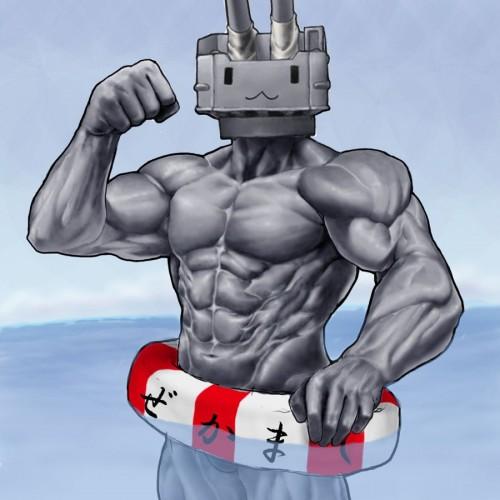 二次 非エロ 艦隊これくしょん 漢体これくしょん 筋肉 マッチョ 二次非エロ画像 kancolle2017123139