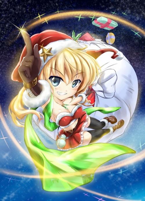 二次 萌え エロ フェチ コスプレ クリスマス 冬 サンタクロース サンタさん 二次エロ画像 santa10020171211014