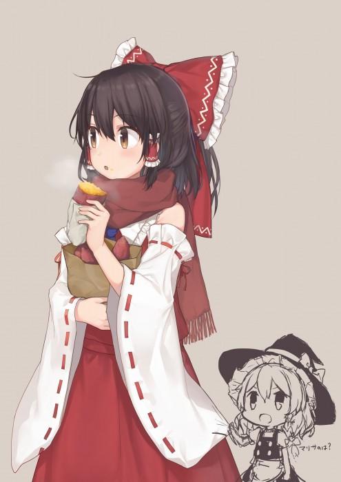 二次 萌え フェチ 食べ物 非エロ 焼き芋 サツマイモ 秋 冬 二次非エロ画像 yakiimo2017120707