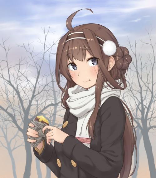 二次 萌え フェチ 食べ物 非エロ 焼き芋 サツマイモ 秋 冬 二次非エロ画像 yakiimo2017120730