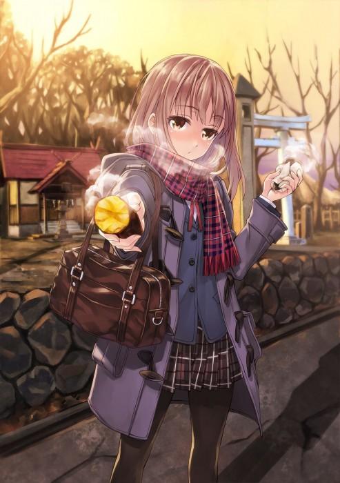 二次 萌え フェチ 食べ物 非エロ 焼き芋 サツマイモ 秋 冬 二次非エロ画像 yakiimo2017120741