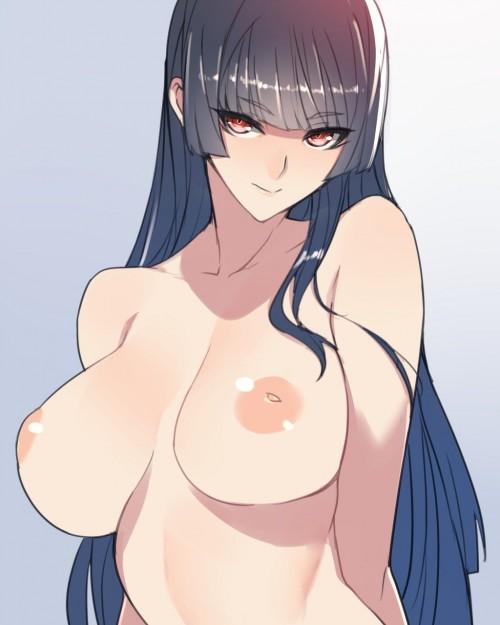 二次 エロ 萌え フェチ 巨乳 おっぱい 陥没乳首 シャイリーニップル 陥没乳頭 二次エロ画像 kanbotsuchikubi2018022113
