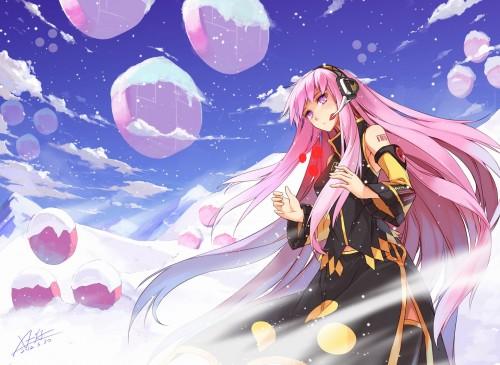 二次 微エロ ゲーム ボーカロイド 巡音ルカ 巨乳 ピンク髪 性能をもてあます ピンクの女神 二次非エロ画像 megurineluka2018020210