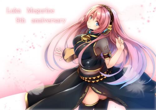 二次 微エロ ゲーム ボーカロイド 巡音ルカ 巨乳 ピンク髪 性能をもてあます ピンクの女神 二次非エロ画像 megurineluka2018020213