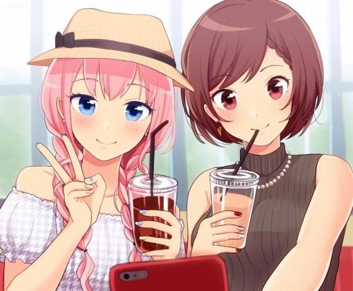 二次 微エロ ゲーム ボーカロイド 巡音ルカ 巨乳 ピンク髪 性能をもてあます ピンクの女神 二次非エロ画像 megurineluka2018020246