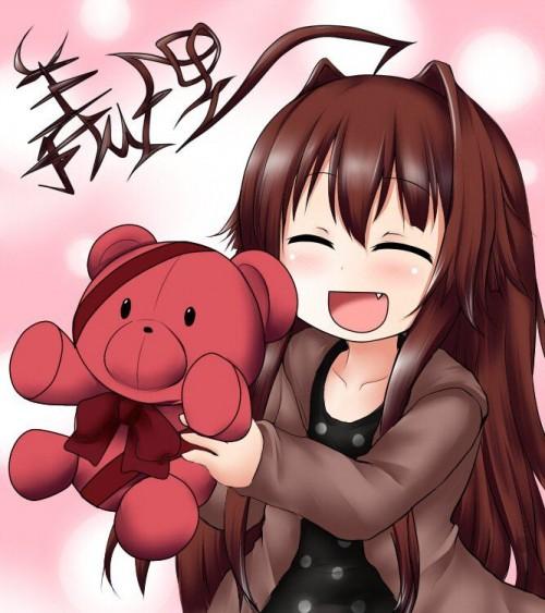二次 非エロ 萌え フェチ バレンタイン チョコレート 裸リボン プレゼント 裸チョコ 赤面 照れてる 恥ずかしがってる 表情 二次微エロ画像 valentine10020180214001