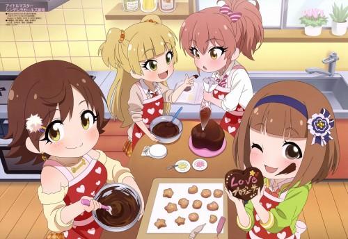 二次 非エロ 萌え フェチ バレンタイン チョコレート 裸リボン プレゼント 裸チョコ 赤面 照れてる 恥ずかしがってる 表情 二次微エロ画像 valentine10020180214047