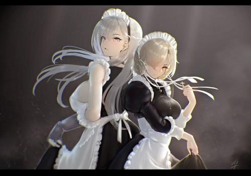 二次 エロ 萌え アズールレーン 擬人化 ゲーム ベルファスト 軽巡洋艦 メイド 巨乳 銀髪・白髪 ガーターベルト 三つ編み 首輪 チョーカー 手袋 ガントレット 二次エロ画像 belfastazurlane10020180319016