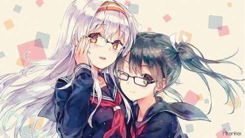 二次 非エロ 萌え フェチ メガネ めがね 眼鏡 眼鏡っ娘 二次非エロ画像 meganekuitto2018032940