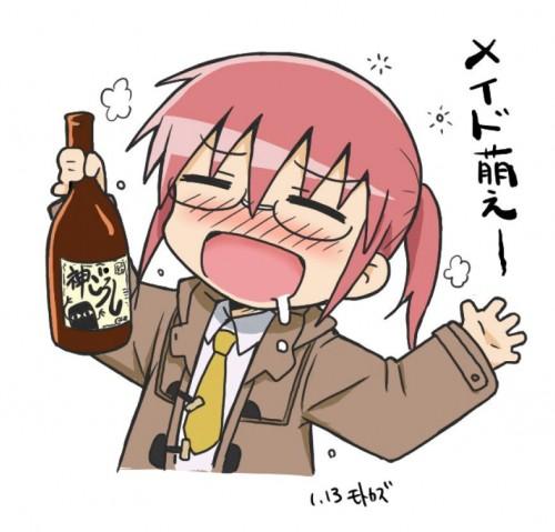 二次 非エロ 萌え フェチ わかめ酒 和服 着物 振袖 お酒 酔っ払い 泥酔 正月 御屠蘇 宴会 パーティー ビール ワイン 二次非エロ画像 osake2018033036