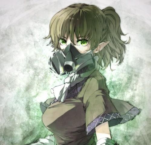 二次 非エロ 萌え フェチ ガスマスク 銃 武装少女 花粉 二次非エロ画像 gasmask2018041220