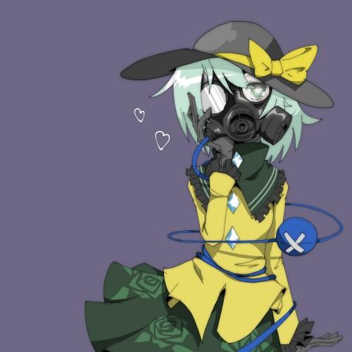 二次 非エロ 萌え フェチ ガスマスク 銃 武装少女 花粉 二次非エロ画像 gasmask2018041236