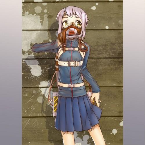 二次 非エロ 萌え フェチ ガスマスク 銃 武装少女 花粉 二次非エロ画像 gasmask2018041246