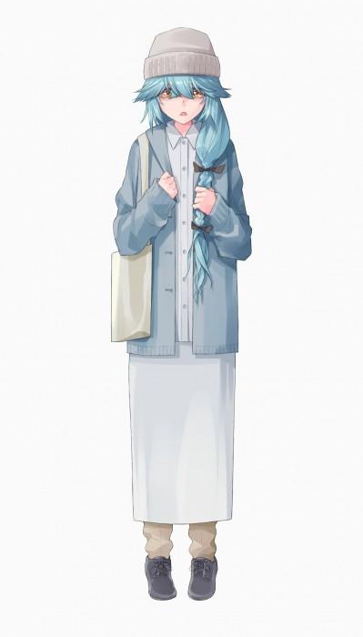 二次 エロ 萌え ゲーム 艦隊これくしょん 艦これ 擬人化 夕雲型駆逐艦13番艦 浜波 目隠れ ストッキング・タイツ アホ毛 三つ編み メカクレ 早口 小声 二次エロ画像 hamanamikancolle2018042009