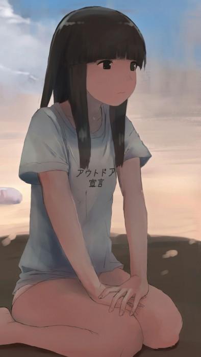 二次 非エロ 萌え クソT・ダサT Tシャツ 文字入り服 二次非エロ画像 kusotshirt10020180524048