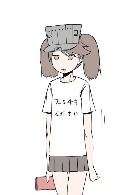 二次 非エロ 萌え クソT・ダサT Tシャツ 文字入り服 二次非エロ画像 kusotshirt10020180524058