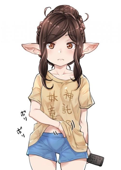 二次 非エロ 萌え クソT・ダサT Tシャツ 文字入り服 二次非エロ画像 kusotshirt10020180524094