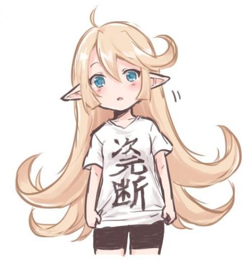 二次 非エロ 萌え クソT・ダサT Tシャツ 文字入り服 二次非エロ画像 kusotshirt10020180524095