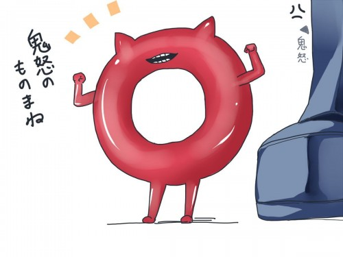 二次 非エロ 萌え ゲーム 艦隊これくしょん 艦これ 深海棲艦 深海浮き輪 護衛棲水姫 ガンビア・ベイ 二次非エロ画像 shinkaiukiwakancolle2018052939
