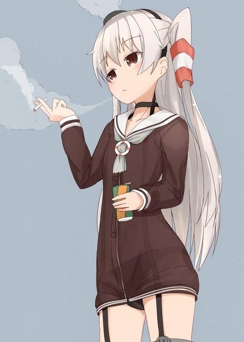二次 非エロ 萌え フェチ タバコ 煙草 煙管 シガー シガレット 葉巻 二次微エロ画像 tabako10020180531080