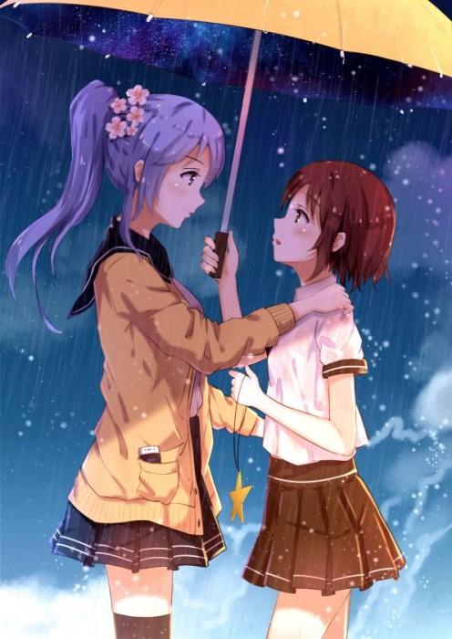 二次 微エロ 萌え フェチ 美少女風景 傘 夏 梅雨 紫陽花 花 日傘 和傘 濡れてる 透けてる 二次微エロ画像 umbrella10020180621003