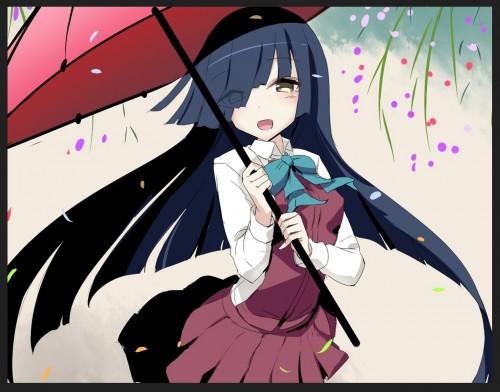 二次 微エロ 萌え フェチ 美少女風景 傘 夏 梅雨 紫陽花 花 日傘 和傘 濡れてる 透けてる 二次微エロ画像 umbrella10020180621011
