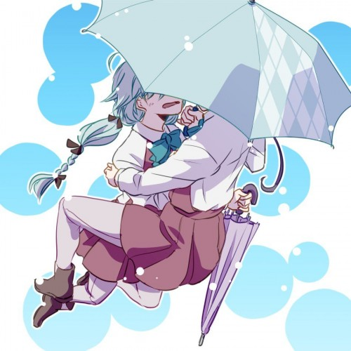 二次 微エロ 萌え フェチ 美少女風景 傘 夏 梅雨 紫陽花 花 日傘 和傘 濡れてる 透けてる 二次微エロ画像 umbrella10020180621052