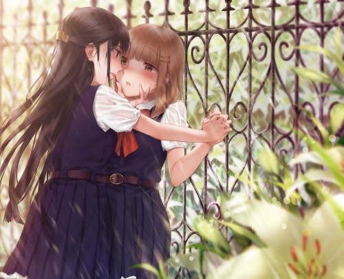 二次 エロ 萌え フェチ 百合 レズ キス キマシタワー タマリマセンワー キマシ塔 女の子同士 松葉崩し シックスナイン クンニ 愛撫 あら^~ クレイジーサイコレズ 二次エロ画像 yuri2018060323