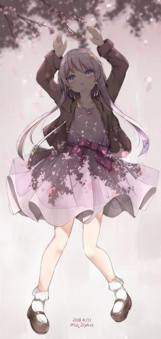 二次 非エロ 萌え ゲーム 艦隊これくしょん 艦これ 擬人化 ロリ 弥生 薄紫髪 セーラー服 腹チラ 少女 ょぅι゛ょ 怒ってなんかないよ、怒ってなんか… 二次微エロ画像 yayoikancolle2018071306