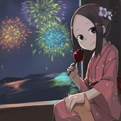 二次 萌え エロ フェチ 和服 着物 浴衣 はだけた 花火 脱衣 季節 夏 お祭り 二次エロ画像 yukata10020180726019