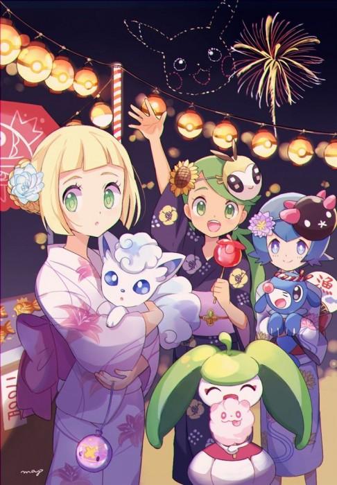 二次 萌え エロ フェチ 和服 着物 浴衣 はだけた 花火 脱衣 季節 夏 お祭り 二次エロ画像 yukata10020180726060