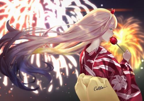 二次 萌え エロ フェチ 和服 着物 浴衣 はだけた 花火 脱衣 季節 夏 お祭り 二次エロ画像 yukata10020180726091