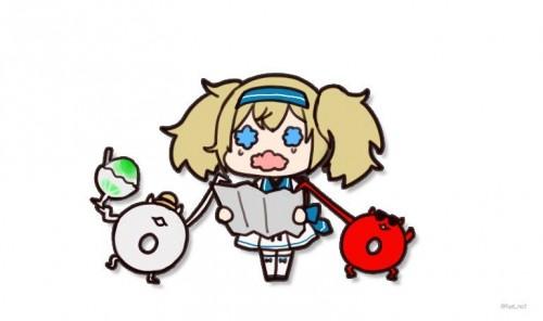 二次 非エロ 萌え ゲーム 艦隊これくしょん 艦これ 深海棲艦 深海浮き輪 護衛棲水姫 ガンビア・ベイ 二次非エロ画像 shinkaiukiwa10020180823007