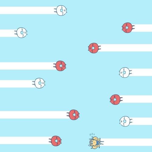 二次 非エロ 萌え ゲーム 艦隊これくしょん 艦これ 深海棲艦 深海浮き輪 護衛棲水姫 ガンビア・ベイ 二次非エロ画像 shinkaiukiwa10020180823033