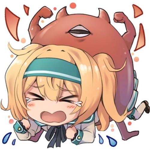 二次 非エロ 萌え ゲーム 艦隊これくしょん 艦これ 深海棲艦 深海浮き輪 護衛棲水姫 ガンビア・ベイ 二次非エロ画像 shinkaiukiwa10020180823047