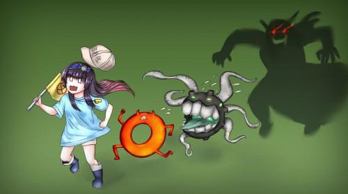 二次 非エロ 萌え ゲーム 艦隊これくしょん 艦これ 深海棲艦 深海浮き輪 護衛棲水姫 ガンビア・ベイ 二次非エロ画像 shinkaiukiwa10020180823087