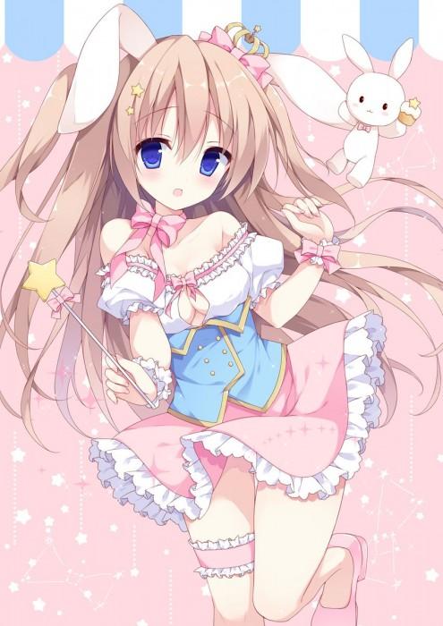 二次 エロ 萌え フェチ コスプレ うさ耳 けもみみ 獣耳 ウサギの真似 二次エロ画像 usamimi10020180821020