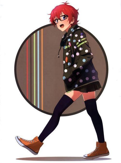 二次 非エロ 萌え ゲーム アイドルマスター アイマス IDOLM@STER アニメ シンデレラガールズ モバマス モゲマス デレマス シンデマス ミリマス グリマス ジュリア 赤髪 ギター ショートカット・短髪 二次非エロ画像