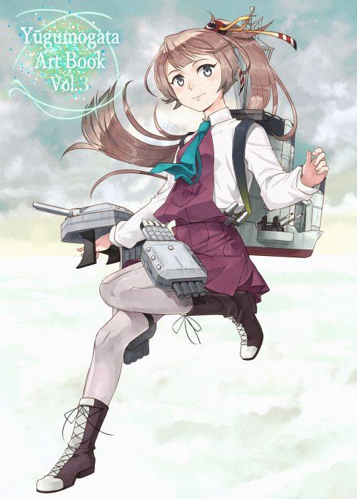 二次 エロ 萌え ゲーム 艦隊これくしょん 艦これ 擬人化 夕雲型駆逐艦 風雲 ポニーテール 茶髪 ストッキング・タイツ リボン 二次エロ画像
