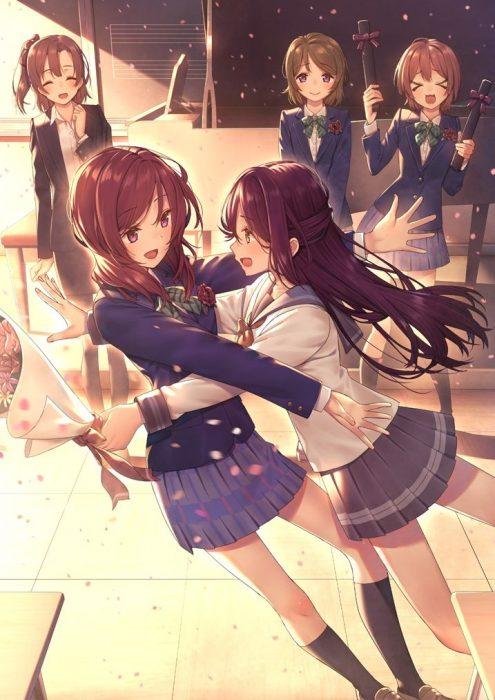 二次 エロ 萌え フェチ アニメ アイドル 女子校生 JK ラブライブ!サンシャイン!! Aqours 桜内梨子 赤髪 二次エロ画像