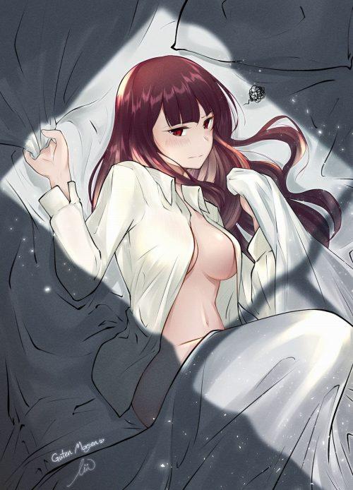 二次 エロ 萌え フェチ シーツ掴み セックス 寝そべり 誘惑 抱き枕 うつ伏せ 仰向け 二次エロ画像