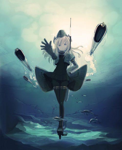 二次 エロ 萌え ゲーム 艦隊これくしょん 艦これ ロリ 貧乳 スク水 ノースリーブセーラー服 銀髪・白髪 ボディスーツ 日焼け 褐色 U-511・呂500 ユー ろー 泳ぐLO どうしてこうなった  信じて送り出したUボートが… 劇的ビフォーアフター セラスク LO500 浮き輪 帽子 潜水艦娘 島田フミカネ 二次エロ画像