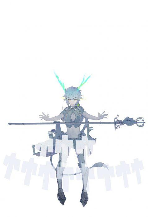 二次 エロ 萌え ゲーム 艦隊これくしょん 艦これ 擬人化 雲龍 谷間ホール 銀髪・白髪 三つ編み ポケポケ系 雲乳 癖毛 二次エロ画像